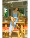 AMBROSIA DRESS IN FIRA BABY BLUE