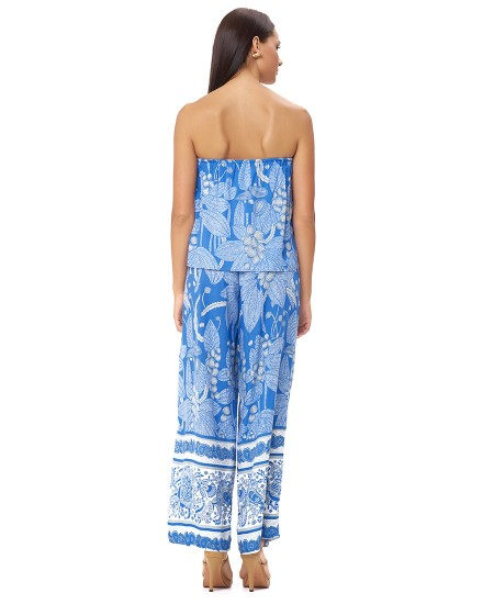 KALIMERA JUMPSUIT IN OIA COBALT BLUE