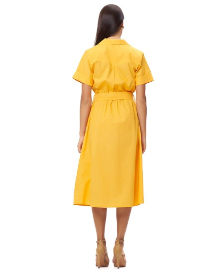 PETRA DRESS IN APRICOT