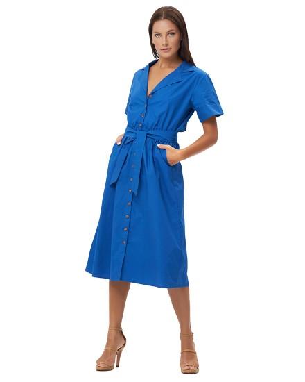 PETRA DRESS IN BLUE
