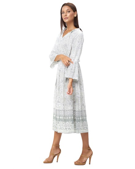 KAVALARI DRESS IN IMEROVIGLI CLOUD GREY