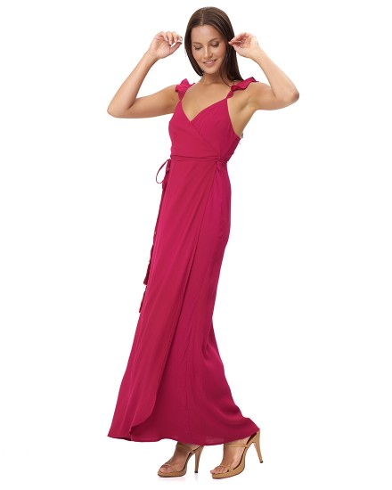 THALASSA DRESS IN FUCHSIA