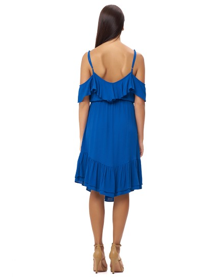 VASILIA DRESS IN BLUE