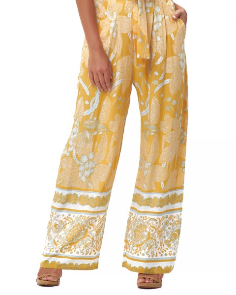 GEORGIA PANTS IN OIA APRICOT