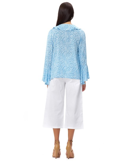 AGIOS TOP IN FIRA BABY BLUE
