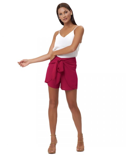 TOULA SHORTS IN FUCHSIA