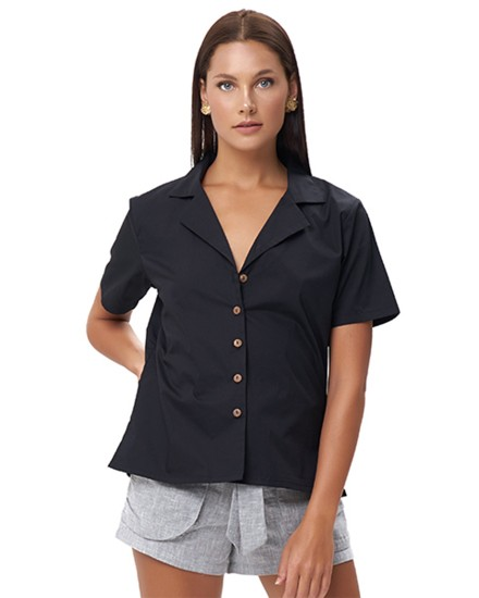 PANDORA TOP IN BLACK