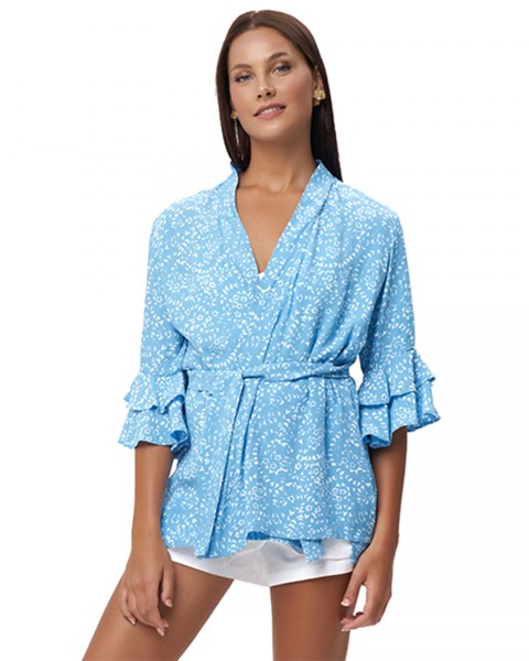 ANEMOS WRAP OUTER IN FIRA BABY BLUE