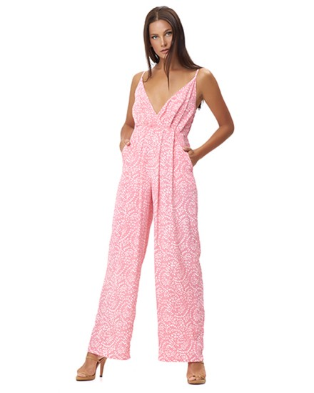 AMMOUDI JUMPSUIT IN FIRA ROSE