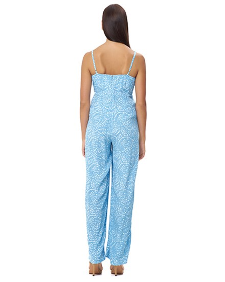 AMMOUDI JUMPSUIT IN FIRA BABY BLUE