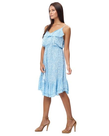 ANDRONIS DRESS IN FIRA BABY BLUE