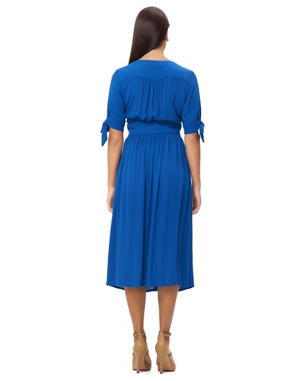 THEODORA DRESS IN BLUE