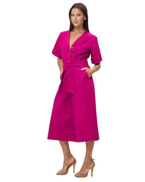 SAMAYA JUMPSUIT IN FUCHSIA
