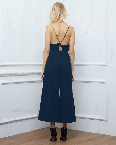 DELANEY JUMPSUIT IN NAVY