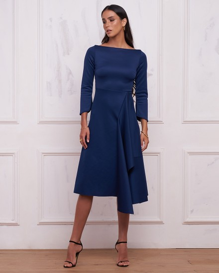 JOHANNA DRESS IN NAVY