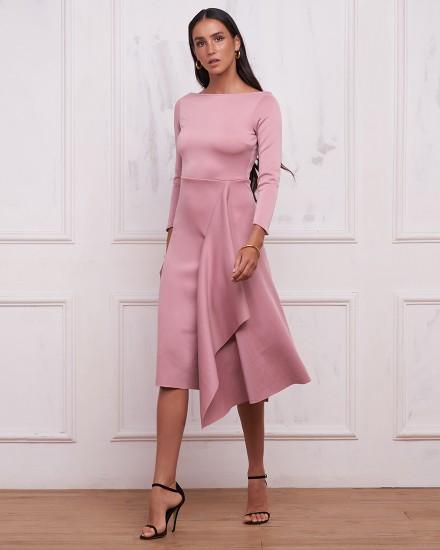 JOHANNA DRESS IN DUSTY ROSE