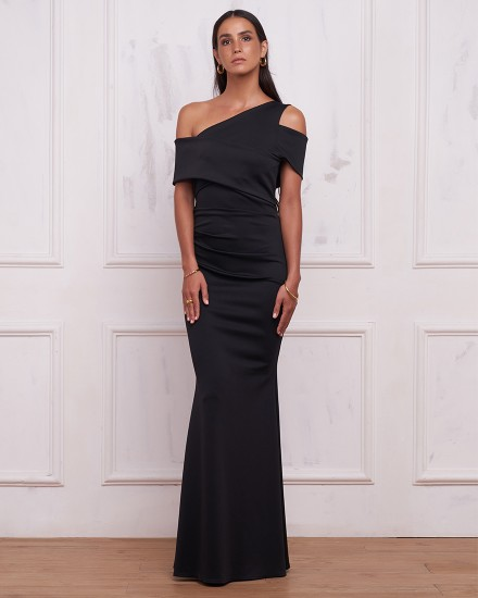 SAMANTHA DRESS IN BLACK