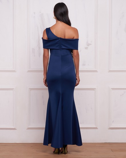 SAMANTHA DRESS IN NAVY