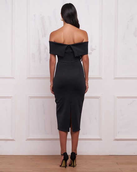 REGINA DRESS IN BLACK