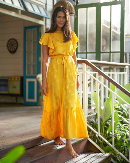 LEYLA DRESS IN YELLOW