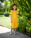 LOLA DRESS IN YELLOW