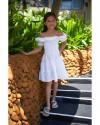SARAH DRESS IN WHITE