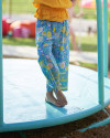 ZOEY PANTS IN FLORAL ROSE BLUE