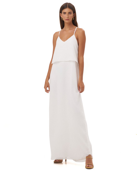 ANASTASIA DRESS IN WHITE
