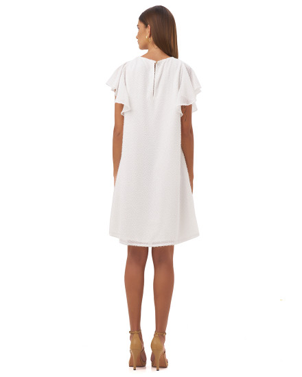 ANTONIA DRESS IN WHITE