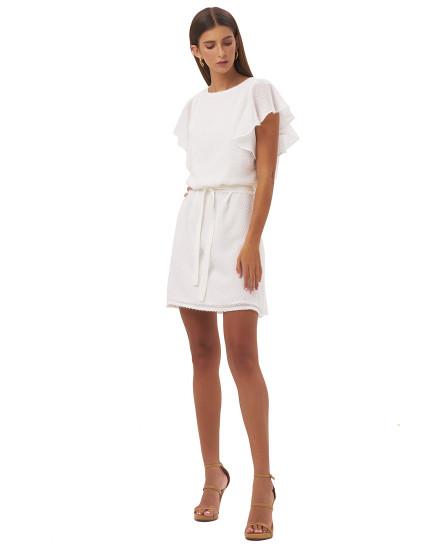 ANTONIA DRESS IN WHITE
