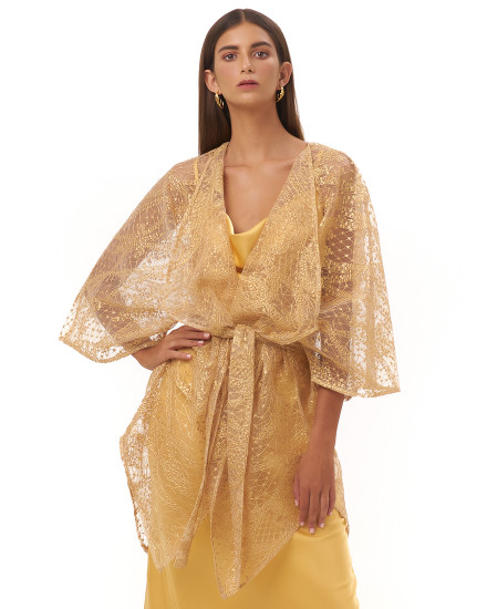 ALESSIA OUTER IN GOLD