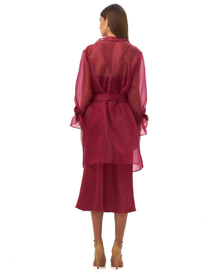 SIMONA OUTER IN MAROON