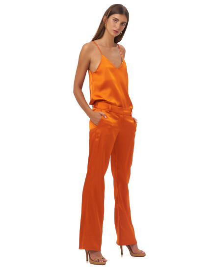 NUCCA PANTS IN TANGERINE