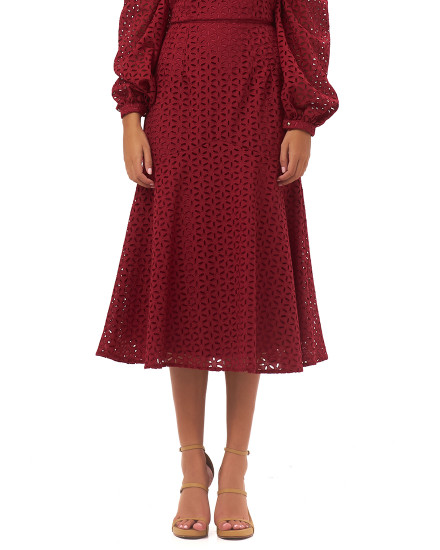 FILIPPA SKIRT IN MAROON