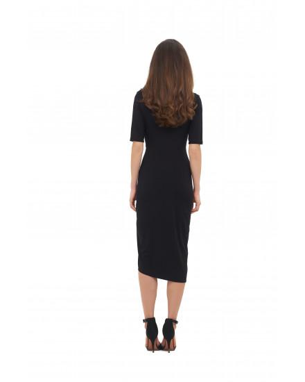 GABRIELA DRESS IN BLACK
