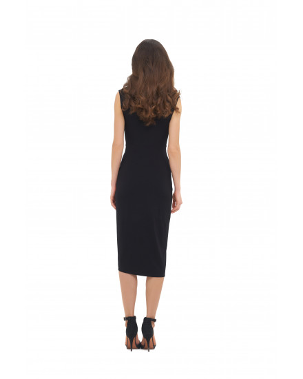 INA DRESS IN BLACK