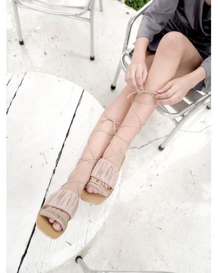 Arcadia Sandals in Nude