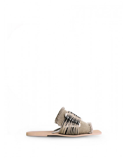 Samudra Sandals in Nude