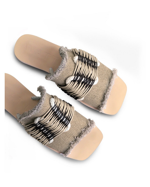Samudra Sandals in Nude