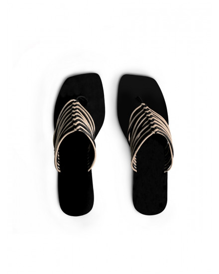 Bahari Sandals in Black