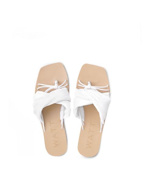 Eden Sandals in White