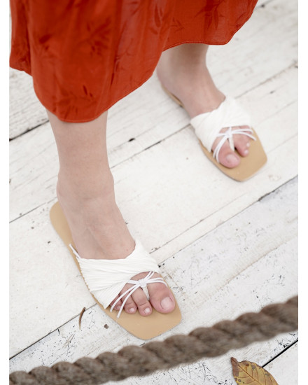 Eden Sandals in White