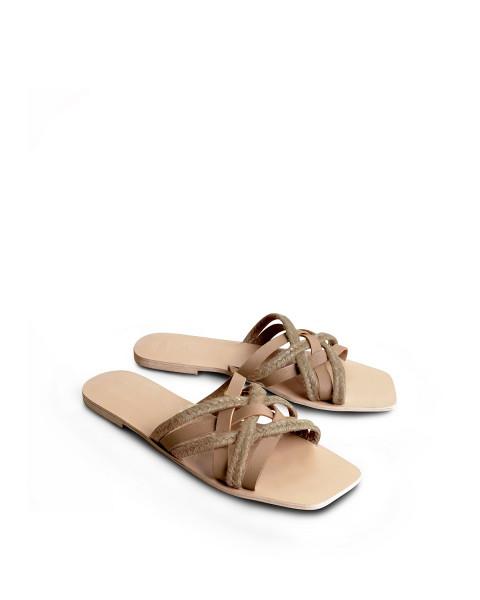 Makara Sandals In Nude