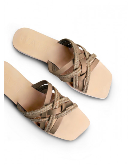 Makara Sandals In Nude