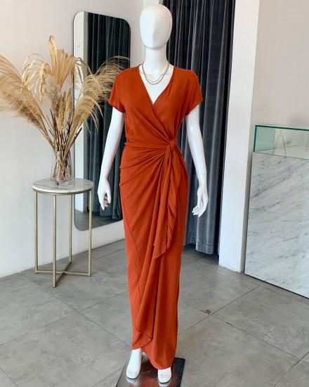 JENA DRESS IN TERRACOTTA