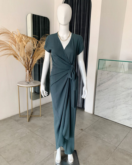 JENA DRESS IN TEAL