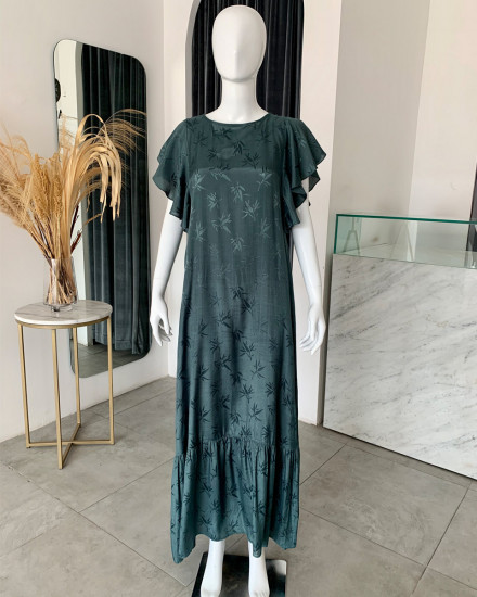 LEYLA DRESS IN TEAL