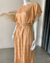 LEYLA DRESS IN GINGER ROOT