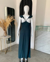 THALASSA DRESS IN TEAL