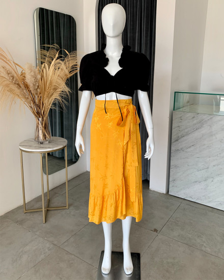 EMRE SKIRT IN YELLOW